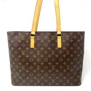 Louis Vuitton Monogram Luco/ Laptop/OfficeTote Bag